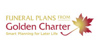 10% off Golden Charter funeral plans Logo